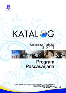 cover katalog ut Program Pascasarjana 2014