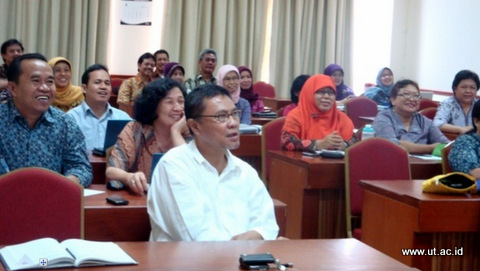 peserta EDUCATION QUALITY MANAGEMENT SYSTEM COURSE