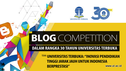 Poster blog competition dies ut 30