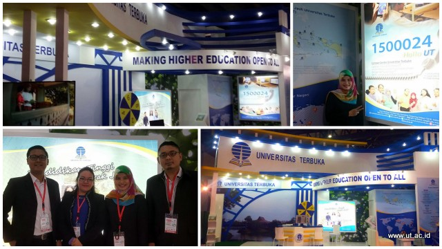 Pameran Edication Training Expo 2016 hari pertama