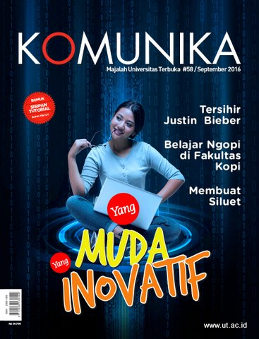 Cover Majalah Komunika September 2016 Edisi 58