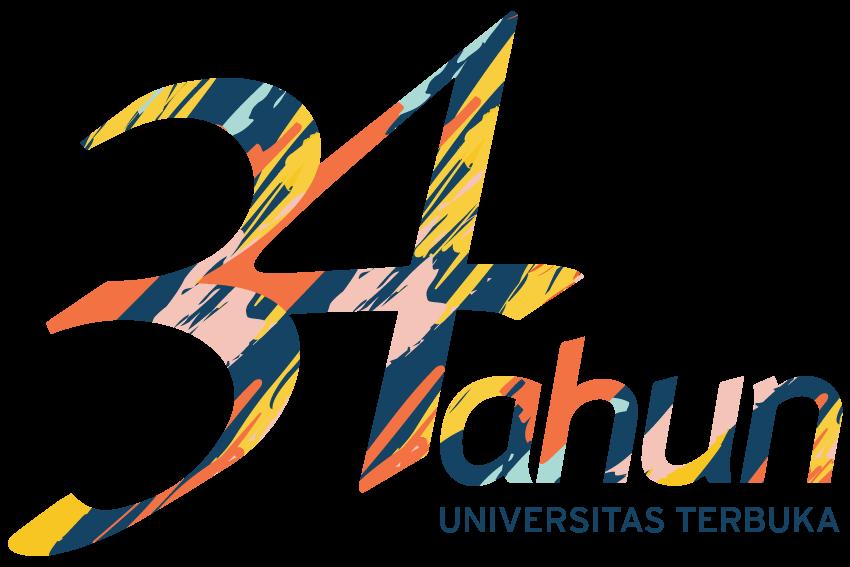 Logo Dies Natalis 34 Universitas Terbuka
