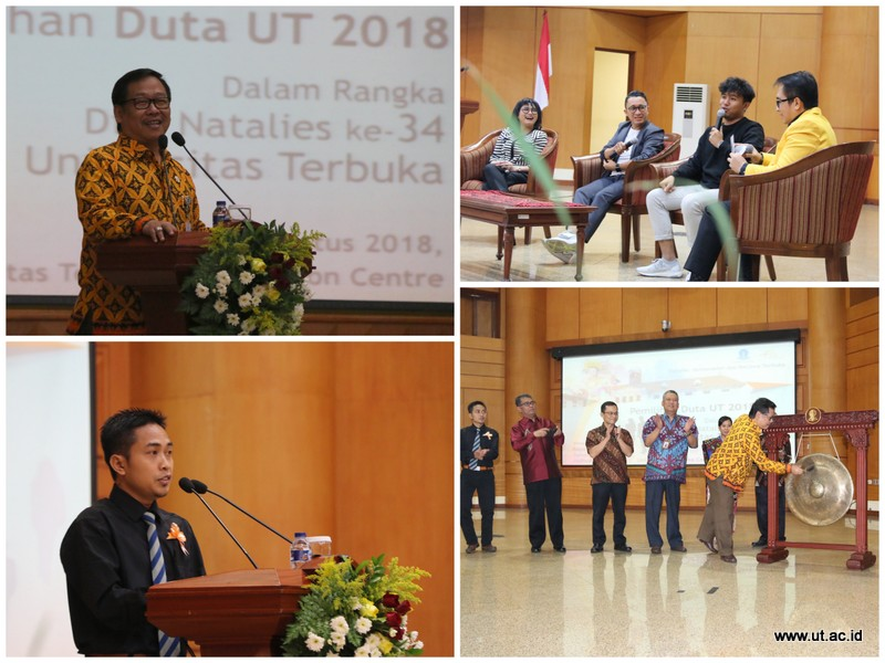 Pemilihan Duta UT dan Temu Public Figure 2018