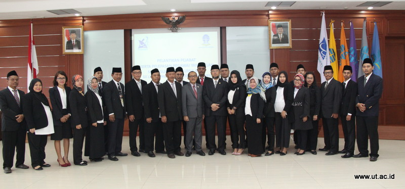 Foto Besama Rektor dengan Pejabat Fungsional Mei 2018