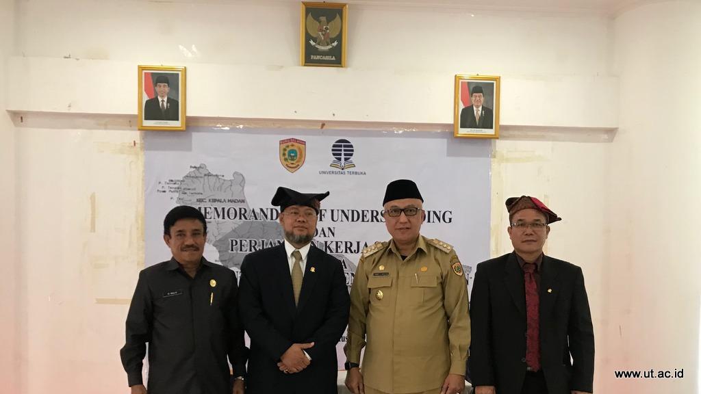 Pemberian Beasiswa Bagi 150 Aparatur Sipil Negara Di Kabupaten Buru Selatan Universitas Terbuka
