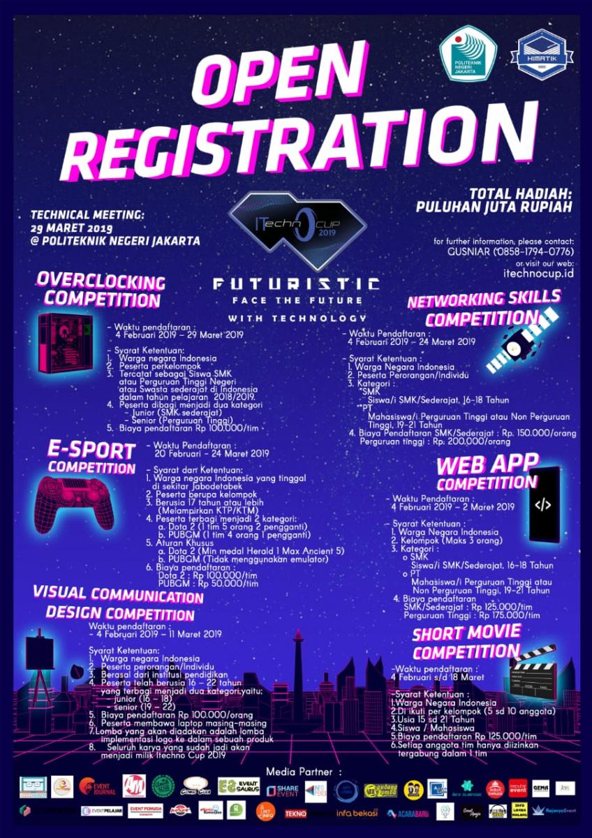 Poster Informatics Technologies and Computer Cup 2019